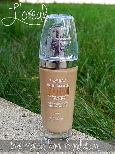 loreal true match lumi foundation