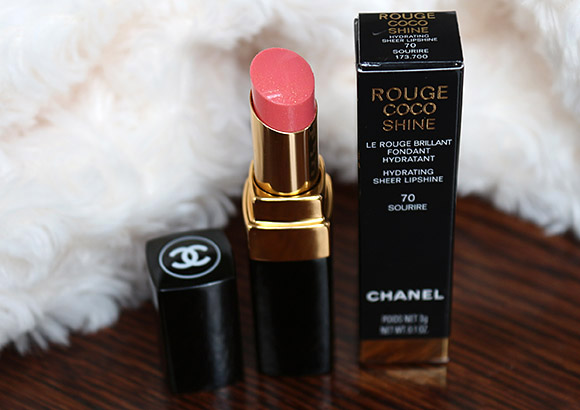 Chanel Sourire Rouge Coco Shine Lipstick